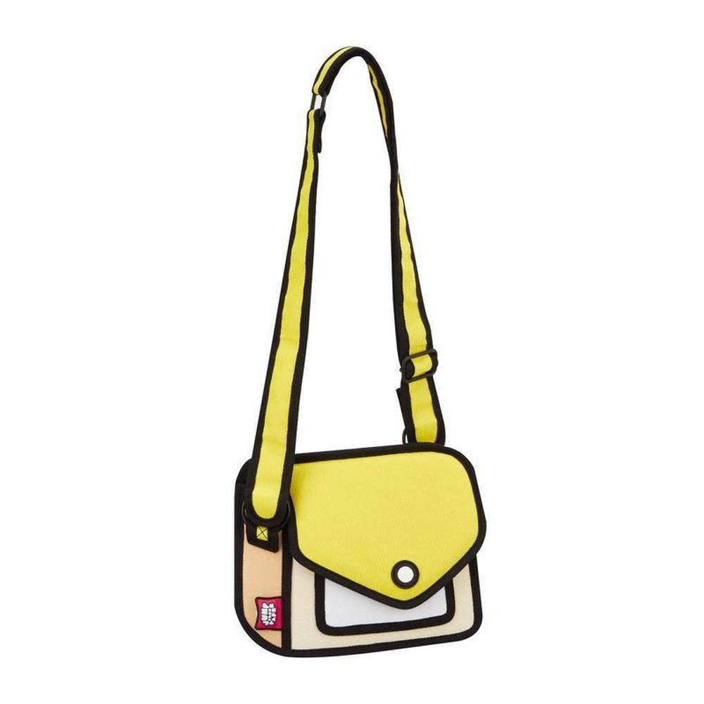 Jump From Paper - Junior Giggle Shoulder Bag - Minion Yellow 6.3 inch, JFP-166 - 2071MALL