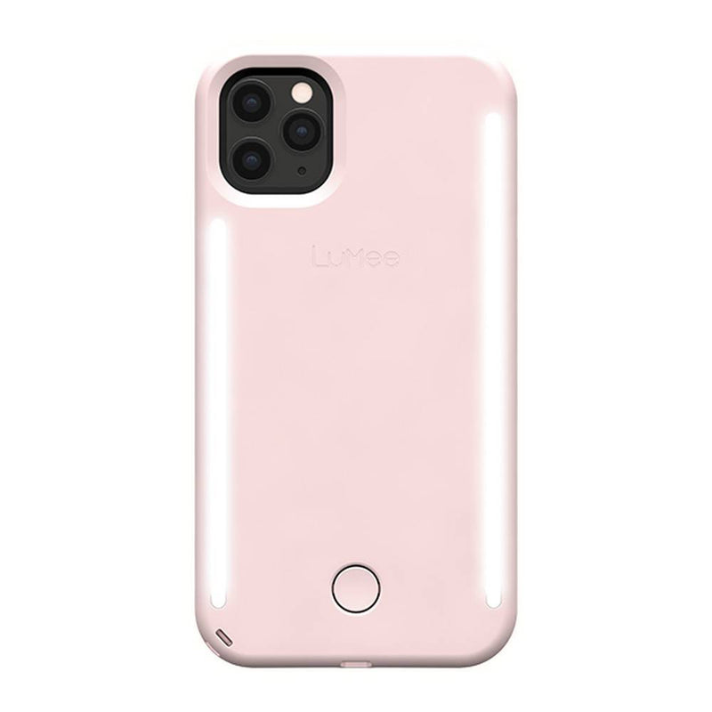 Lumee - Duo Case for iPhone 11 Pro Max - Millennial Pink, LM-041836 - 2071MALL