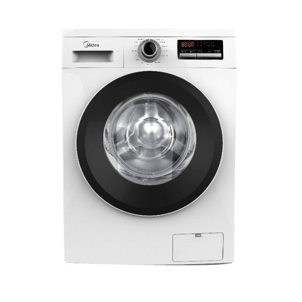 Midea Front Loading Washing Machine 6Kg 1200 Rpm White Mfg60 - 2071MALL