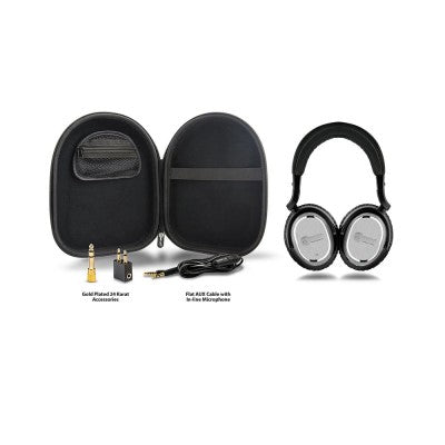 Naztech Noisehush i7 ANC Headphones Black - 2071MALL