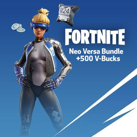 Fortnite Versa Pack + 500 V Bucks - Instant Delivery (US PSN) Account details will be sent via email within 24 - 48 hours. Prepaid Only - 2071MALL