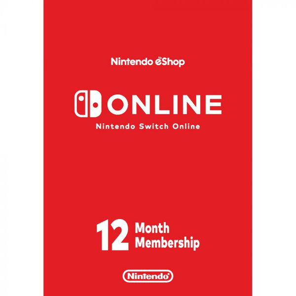 Nintendo Membership 12 Month US -Account details will be sent via email within 24 - 48 hours. Prepaid Only - 2071MALL