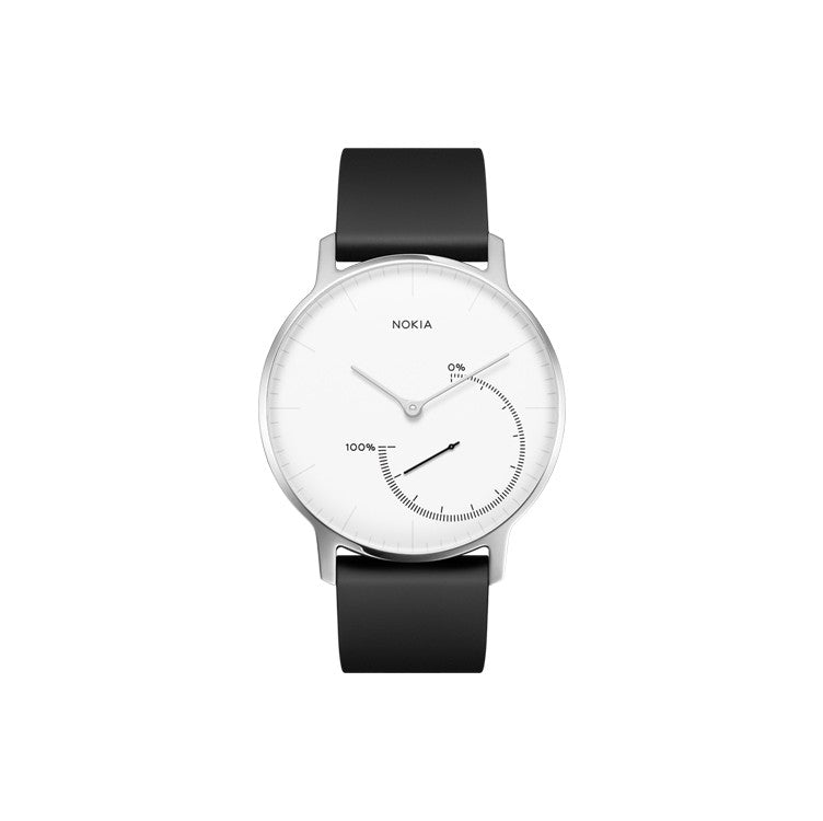 Nokia Activity & Sleep Watch Nokia Withings Nokia Watch Activite Steel - White - 2071MALL