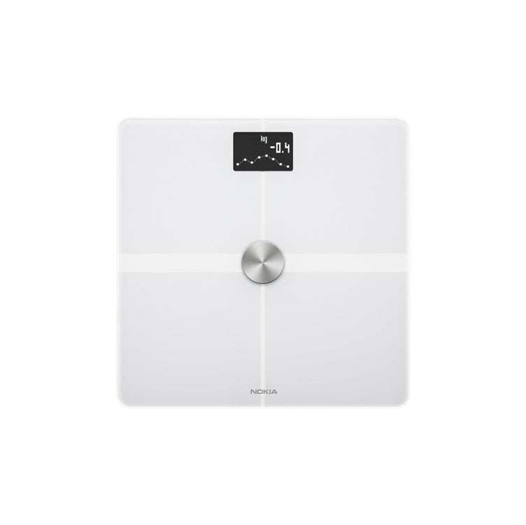 Withings Nokia Body+ WBS05 Body Composition Wi-Fi Scale - White - 2071MALL