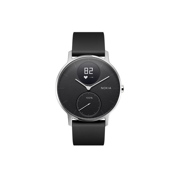 Withings Nokia Steel HR Hybrid Smartwatch 36mm - Black - 2071MALL