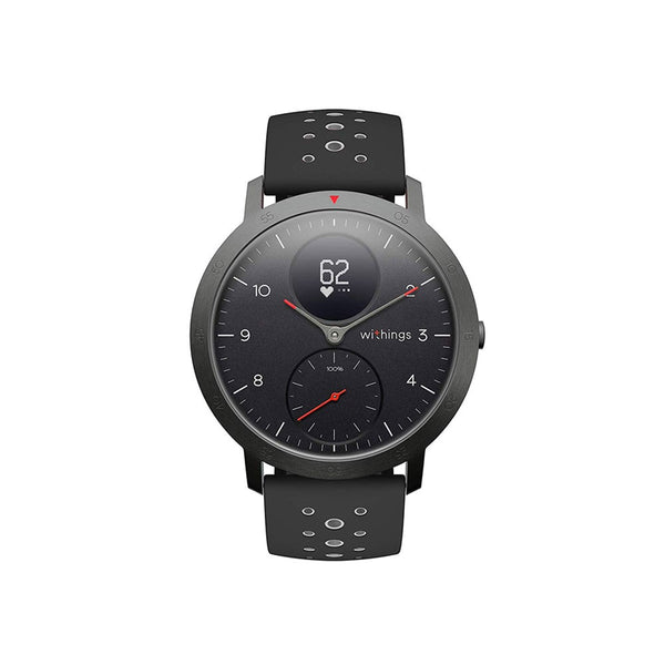 Withings Steel HR Sport Hybrid Smartwatch 40mm - Black - 2071MALL