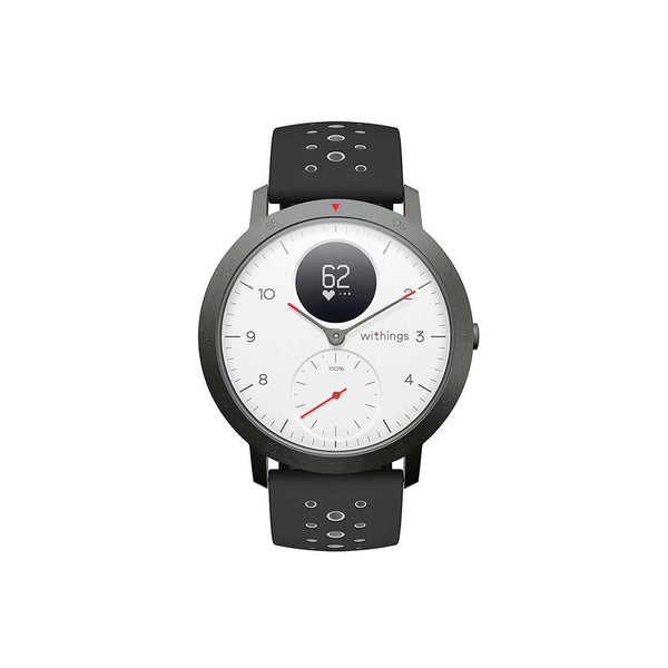 Withings Steel HR Sport Hybrid Smartwatch 40mm - White - 2071MALL