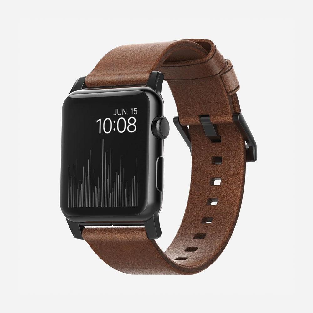 Nomad Modern Strap for Apple Watch 38mm - Rustic Brown - 2071MALL