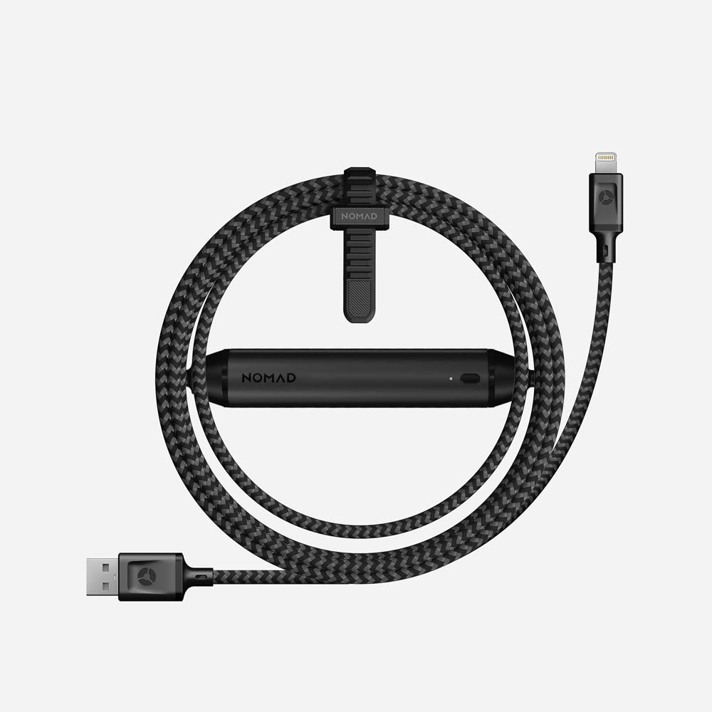 Nomad Fast Charge Lightning Cable 2800 mAh Lightning Battery Cable 2nd Gen - 2071MALL