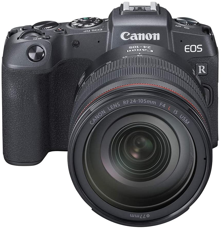 Canon EOS RP Mirrorless Camera with RF 24-105mm F/4L IS USM Lens without Mount - Black,B07N9KP2HS - 2071MALL