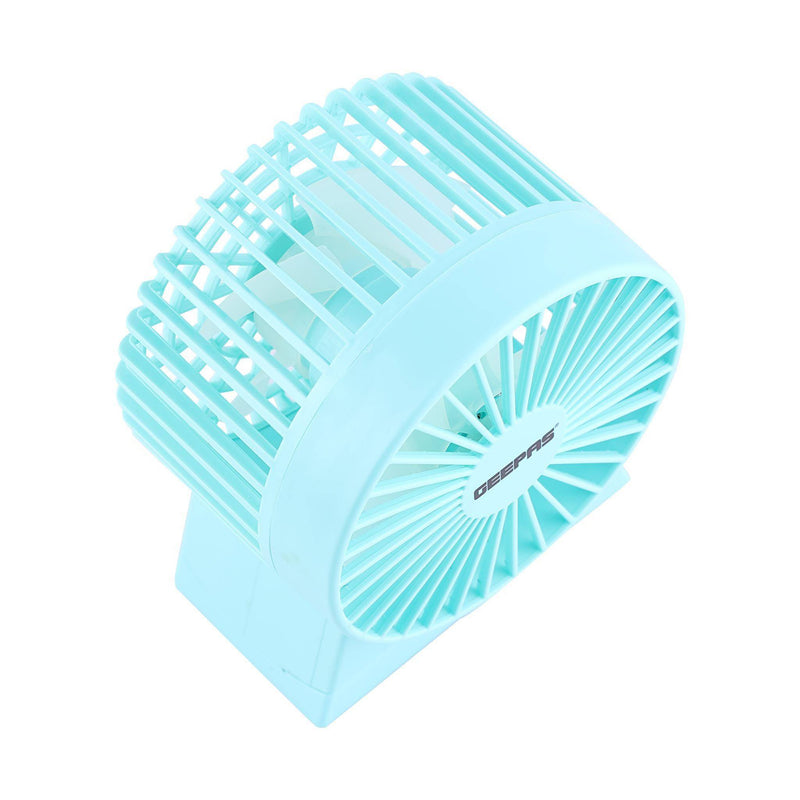 Geepas Mini Usb Fan Strong Wind Usb Interface 1x60 - Blue, GF9630 - 2071MALL