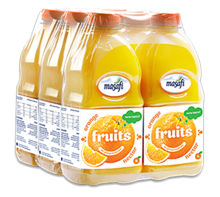 MASAFI Orange Nectar Juice 1 Liter - 6pcs - 2071MALL