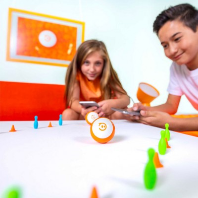 Sphero Mini App-Enabled Programmable Robot Ball - Stem Educational Toy For Kids Ages 8 & Up  (Orange) - 2071MALL