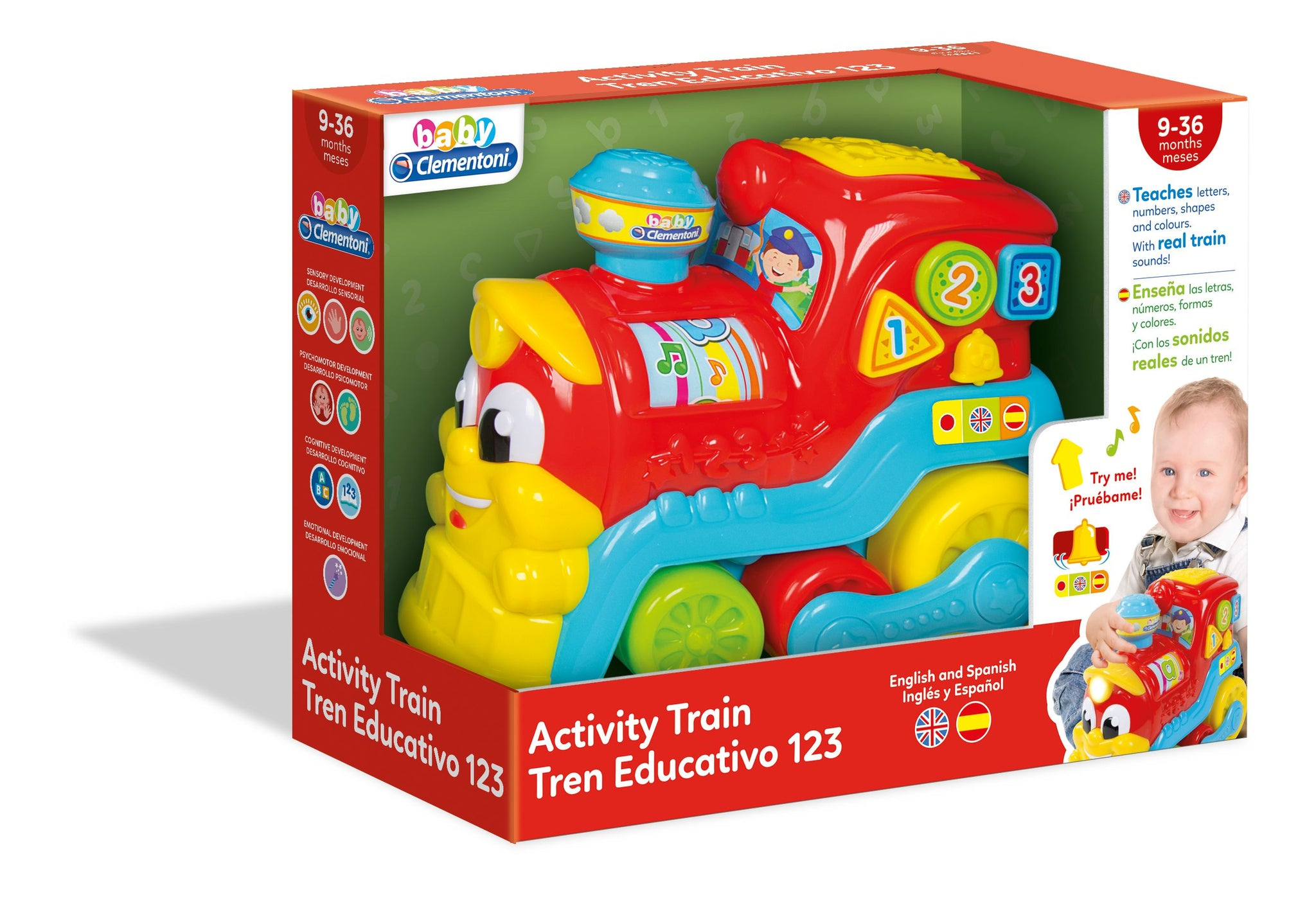 Clementoni Baby Activity Train - 2071MALL