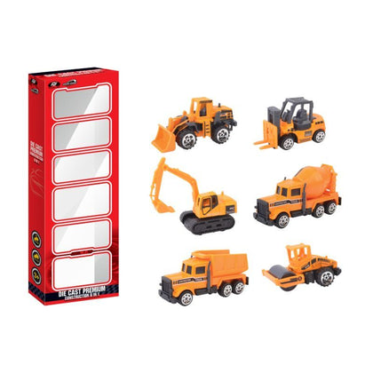 Power Joy V .Vroom Diecast Premium Construction, 6 In 1 - 2071MALL