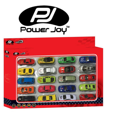 Power Joy V. Vroom Diecast Collect 20 In1 ,1/63 - 2071MALL