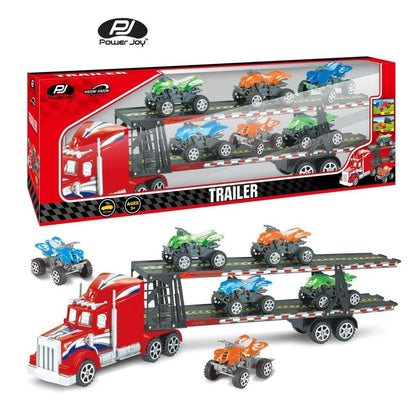 Power Joy V. Vroom Trailer, 6Pcs - 2071MALL