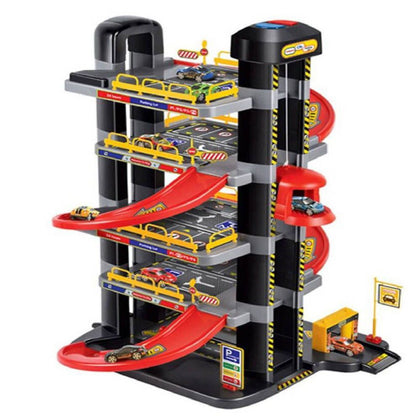 Power Joy Vroom Garage Playset With Light ,49Pcs - 2071MALL