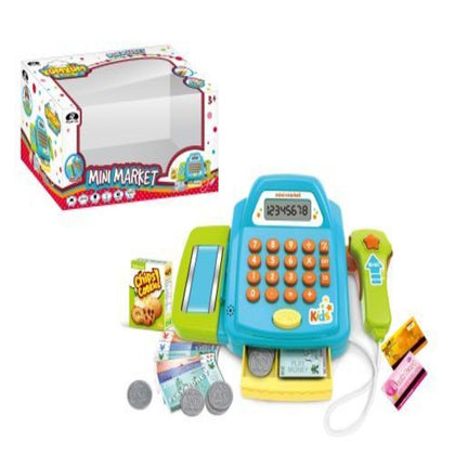 Power Joy Yumyum Cash Register Mini Market  B/O - 2071MALL