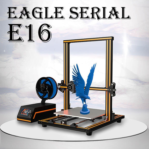 Anet E10 E12 E16 Eagle Serial Metal 3D Printer with 300*300*400mm Large Printing Size Impresora - 2071MALL