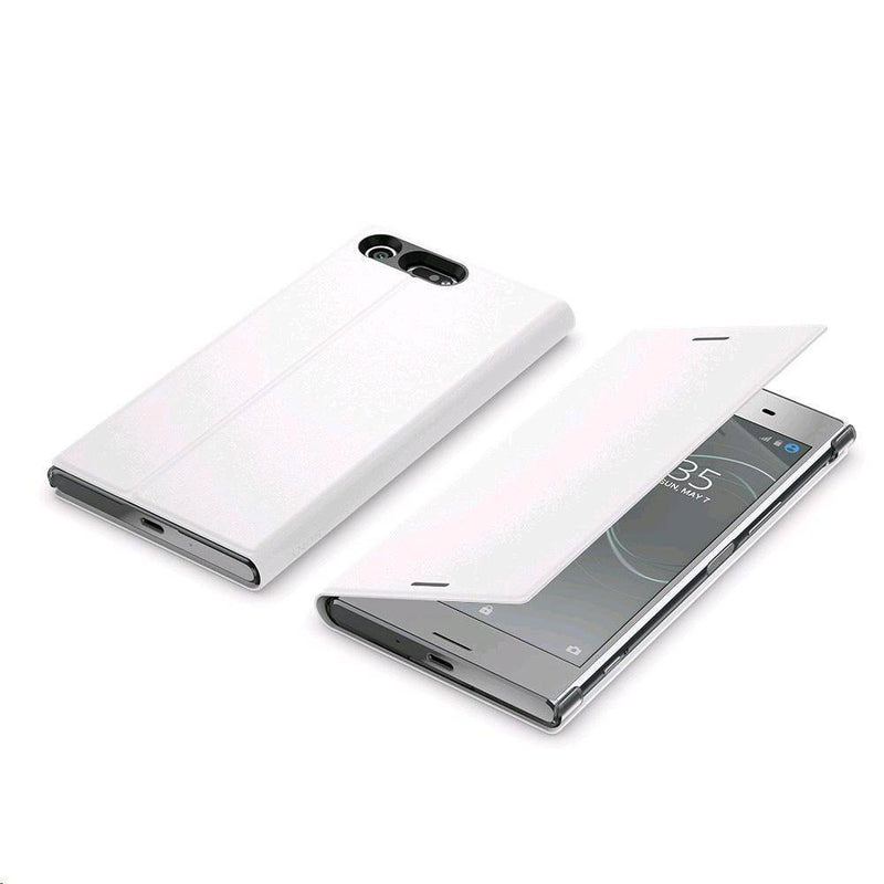 Sony - Style Cover Stand For Xperia Xz Premium White - White, SONY-1307-2301 - 2071MALL