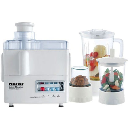 Nikai 4 IN 1 Food Processor - NFP1724N - 2071MALL