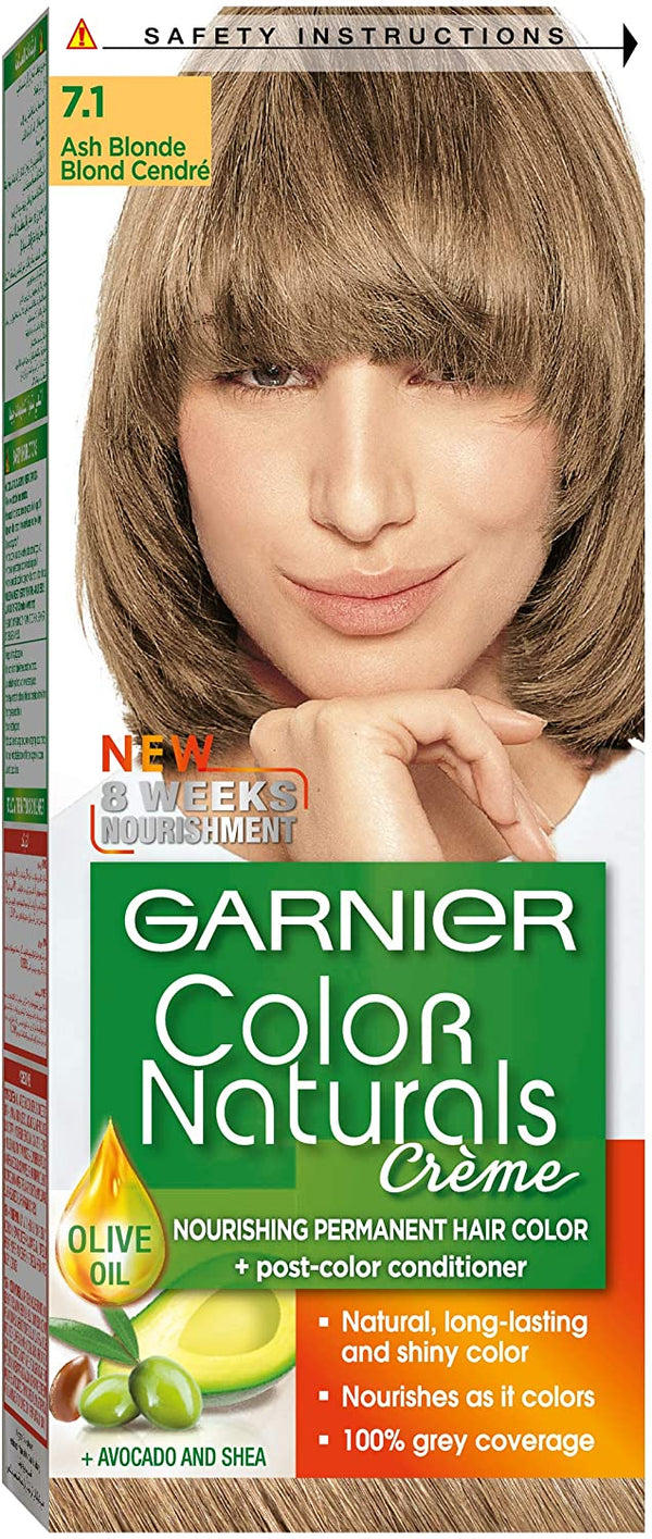 Garnier Color Naturals - 7.1 Ash Blond10 - 2071MALL