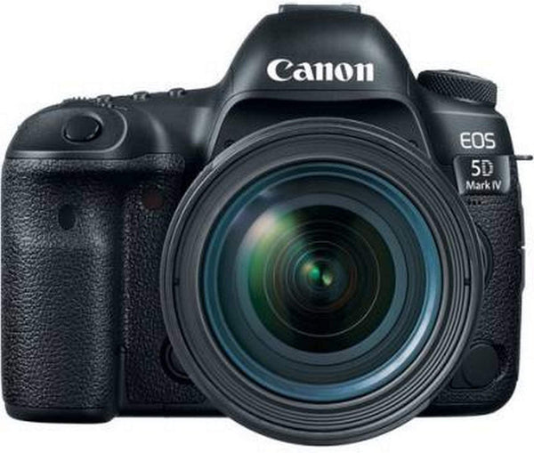 Canon EOS 5D Mark IV 24-70mm F/4L Lens - 30.4MP, DSLR Camera -  Black - 2071MALL