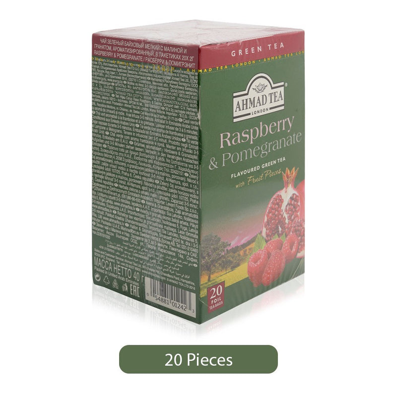 Ahmad Tea London Green Tea Powder - 20 Bags