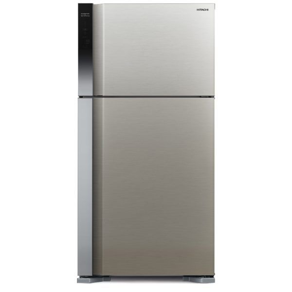 Hitachi 710 L Top Mount Refrigerator, Brilliant Black/ RV710PUK7KBBK - 2071MALL