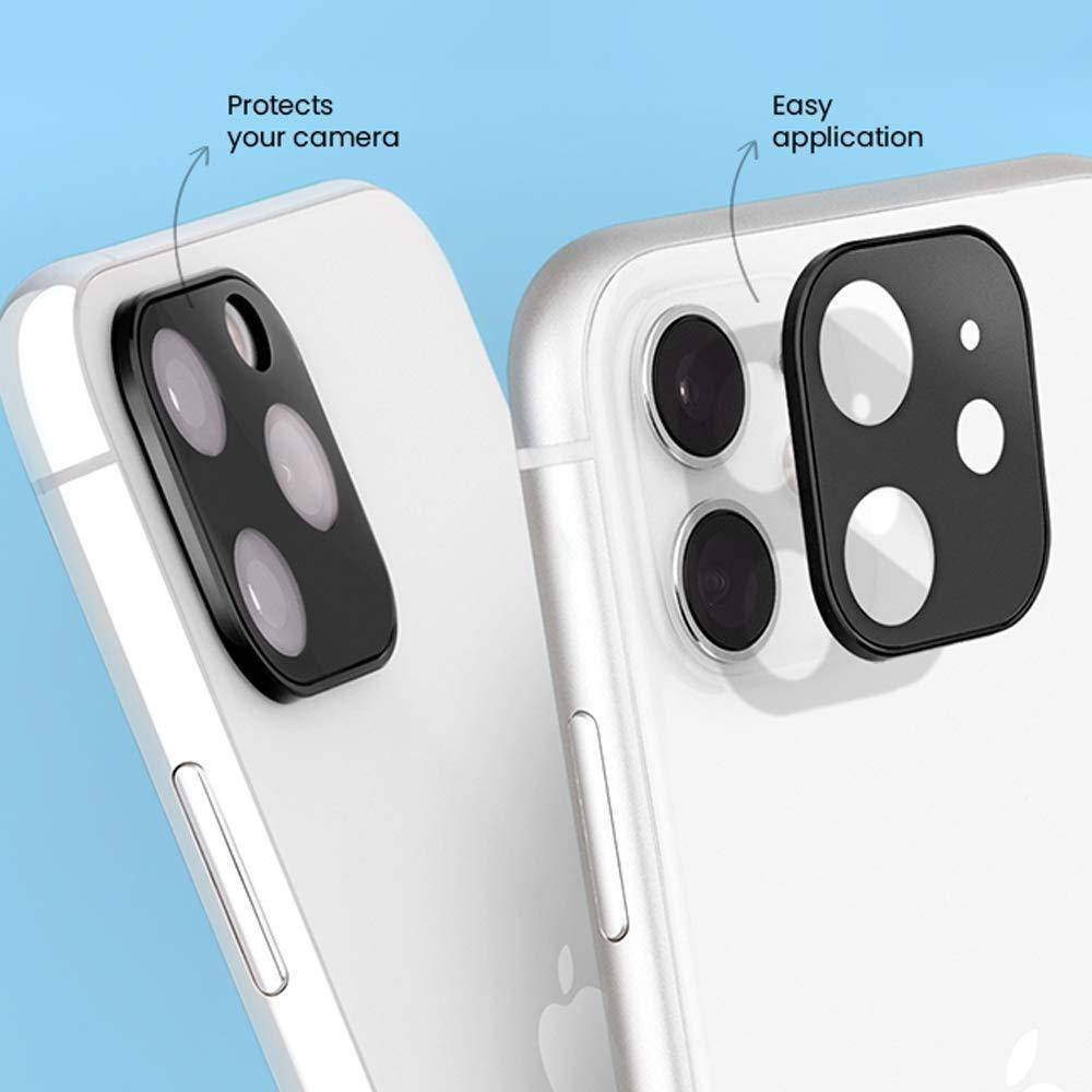 Case-Mate Rear Camera Turret Glass Protector for iPhone 11 Pro/11 Pro Max Black, Black, CM-CM041750 - 2071MALL