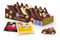 Ritter Sport Mini Nut Mix , Whole milk, White or Dark with Whole Hazelnuts 116g