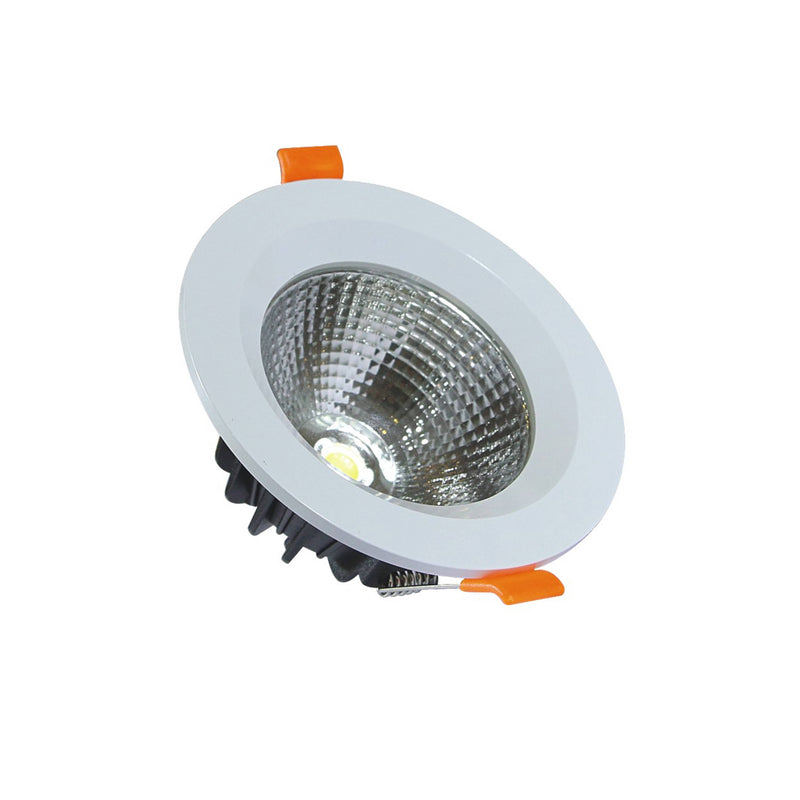 Geepas Energy Saving Led Cob Downlight 7w 1x20 - White, GESL55038 - 2071MALL