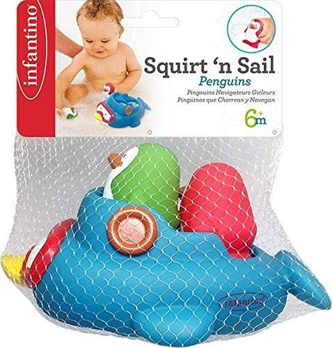 Infantino-Squirt'N Sail Penguins