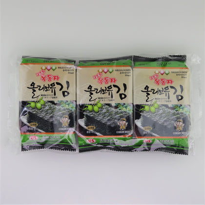 Seaweed Snack with Olive Oil , 1pc - 2071MALL