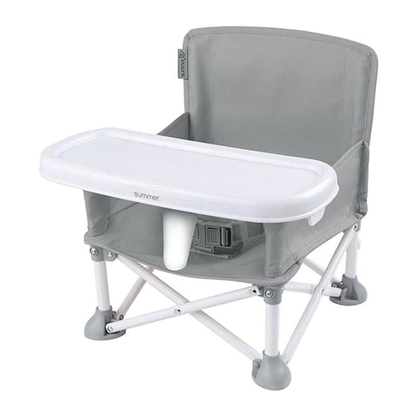 Summer Infant Pop 'N Sit® Portable Booster Grey