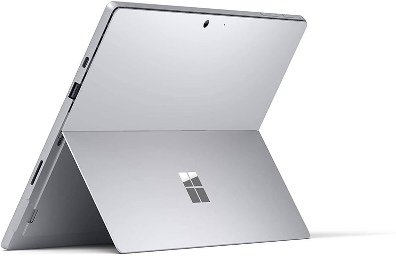 "Microsoft Surface Pro 7 – 12.3"" Touch-Screen - 10th Gen Intel Core i5 - 8GB RAM- 128GB SSD – Platinum with Black Keyboard Type Cover (QWU-00001) - 2071MALL"