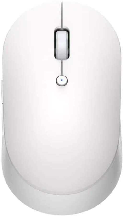 Mi Dual Mode Wireless Mouse Silent Edition - White, HLK4040GL - 2071MALL