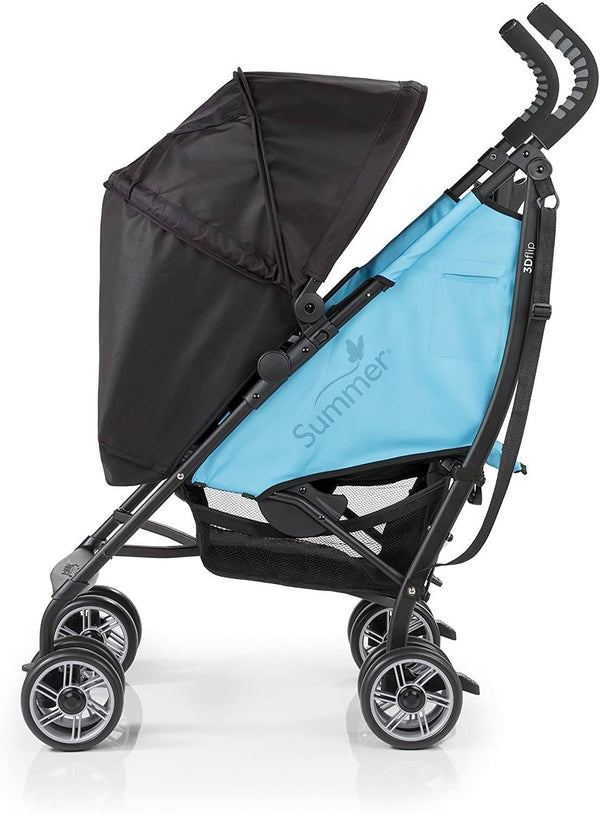 Summer Infant 3D Flip Convenience Stroller-Now & Then Teal
