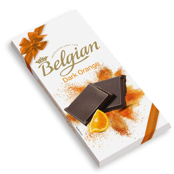 Belgian Chocolate Dark Orange 100g - 2071MALL