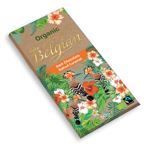 Belgian Organic Dark Chocolate With Salted Caramel - 2071MALL
