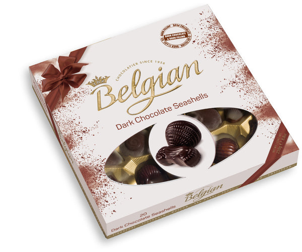 Belgian Dark Chocolate Seashells - 2071MALL