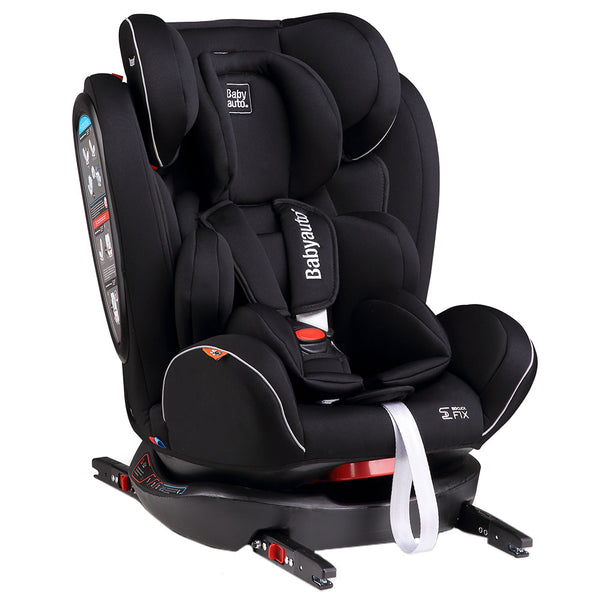 Babyauto Noefix 0123 (0-12Y) Car Seat(Black With Black Base), BA314498 - 2071MALL