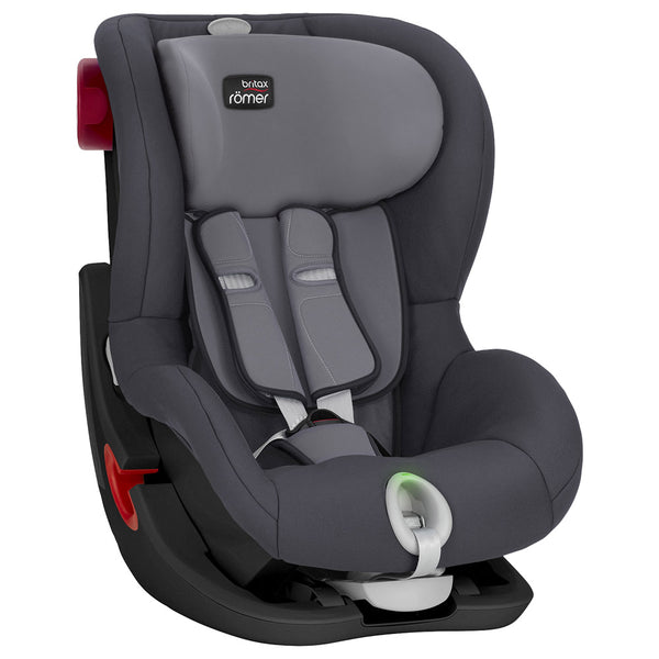 Britax  Römer King II Ls Black Series, From 9M-4Years,Group 1,Storm Grey, BX2000025255