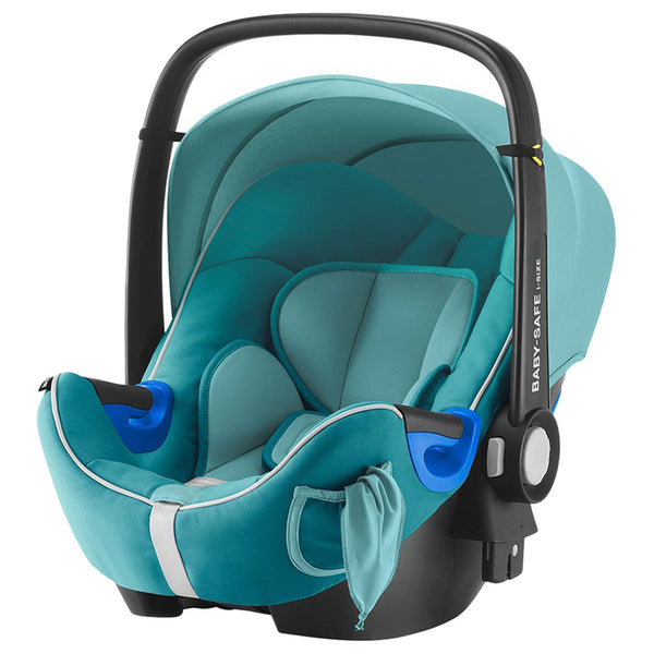 Britax  Römer Baby-Safe2 I-Size Br-Baby Car Seat, From Birth To 15 Months,, Lagoon Green Sb, BX2000029697