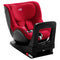 Britax  Römer Dualfix I-Size Br Baby Car Seat, From Birth To 4 Years, Group 01,  Fire Red Zs Sb, BX2000030771