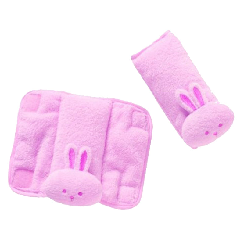 Summer Infant Cushy Straps - Pink Bunny - 2071MALL