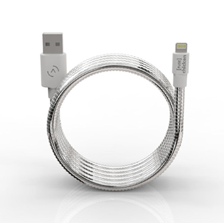Fuse Chicken Titan Silver+ 1.5 m Lightning Charger Cable - 2071MALL