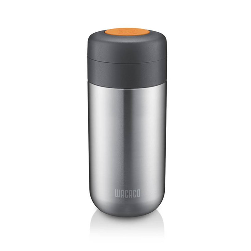 Wacaco - Nanovessel 3-In-1 Vacuum Insulated Flask Compatible With Nanopresso - Silver, WC-NANOVESSEL - 2071MALL