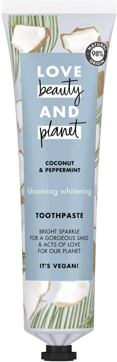 Love Beauty And Planet Blooming Whitening Coconut And Peppermint Toothpaste, 75ml - 2071MALL